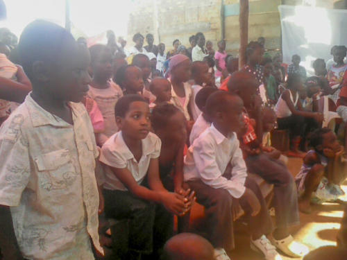 some of the children of the orphanage